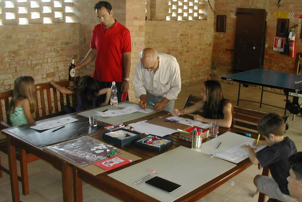 san fabiano activities - Drawing Lesson