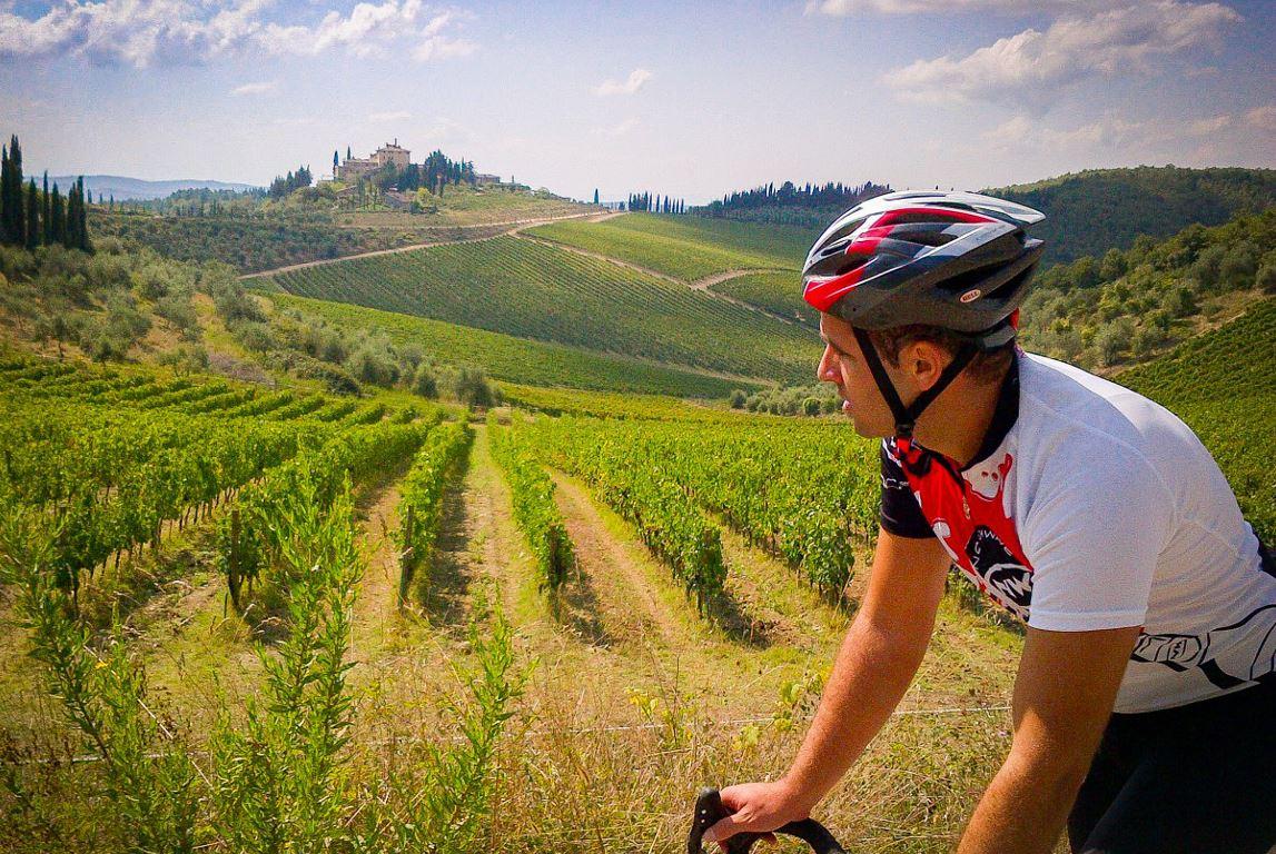 san fabiano activities - bike tour