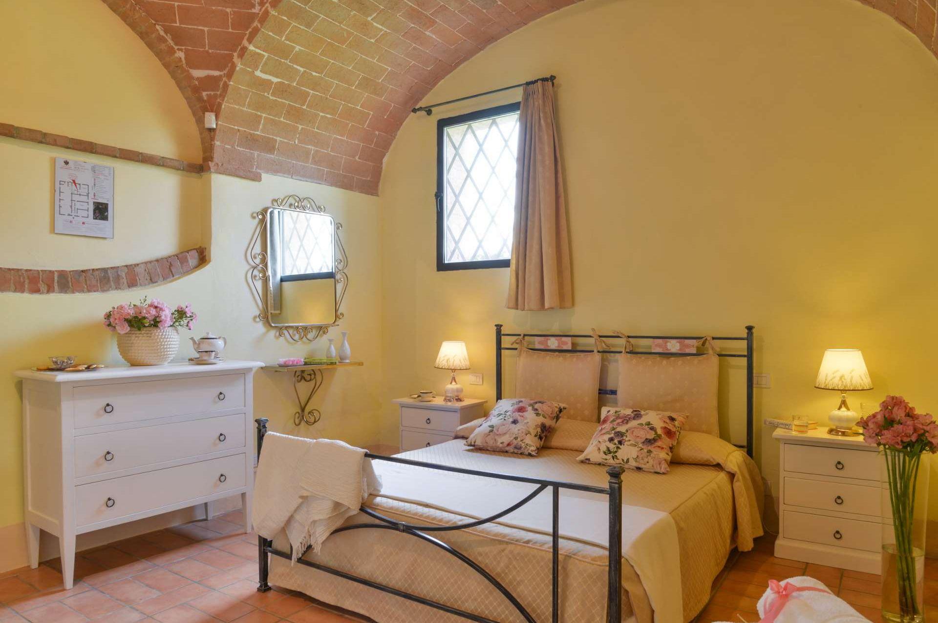 bedroom il Pozzo